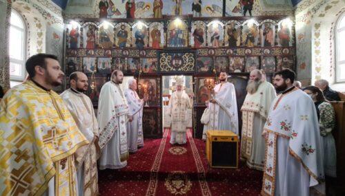 Binecuvântare arhierească pentru credincioșii din Caila, județul Bistrița-Năsăud