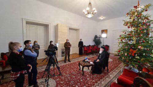 Mitropolitul Andrei s-a întâlnit cu presa clujeană și a prezentat mesajul pastoralei la Sărbătoarea Nașterii Domnului 2020