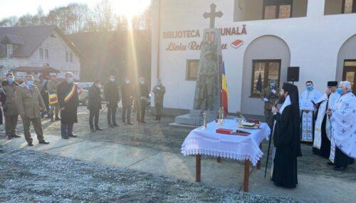 Monument închinat eroilor din Târlișua, sfințit de Ziua Națională a României