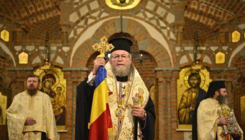 Episcopul Iustin: Când parcă totul era pierdut, când toate lucrurile ne erau potrivnice, Dumnezeu a venit și a împlinit visul românilor