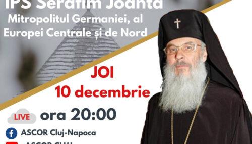 Mitropolitul Germaniei, Europei Centrale și de Nord, invitatul din această săptămână al studenților creștini ortodocși clujeni