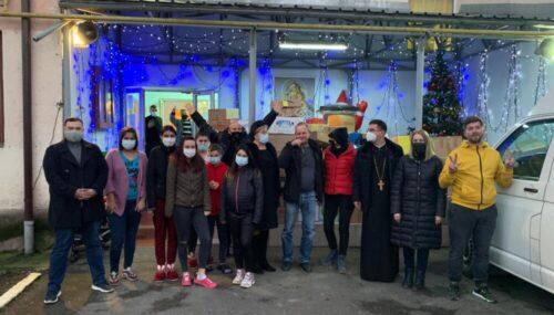 Peste 1000 de copii au primit cadouri, cu sprijinul Protopopiatului Bistrița