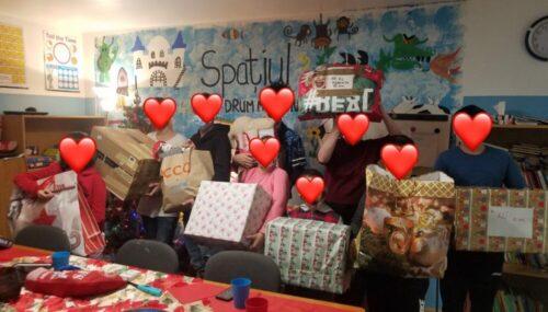 """""""Filantropia"""" Bistrița-Năsăud. Ajutor de Crăciun pentru sute de copii și familii"""