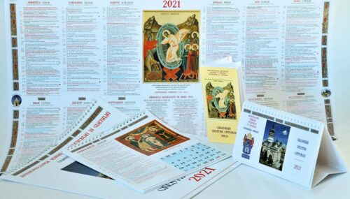 Calendarele bisericești ale Arhiepiscopiei Clujului pe anul 2021 marchează centenarul eparhiei