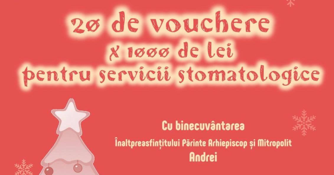 Servicii stomatologice gratuite pentru copiii defavorizați din Protopopiatul Turda