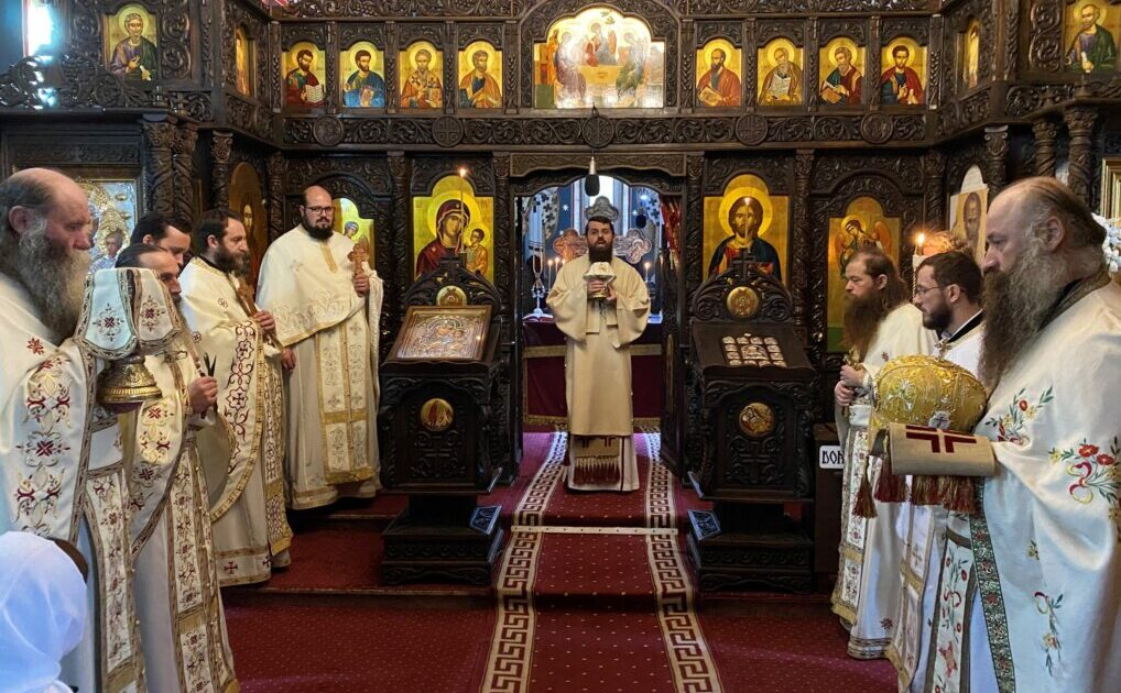Liturghie arhierească la Mănăstirea Nușeni, în cinstea Sfântului Ierarh Spiridon