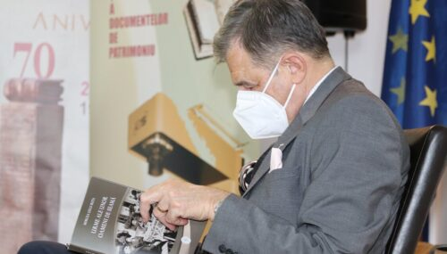 O carte importantă pentru bistrițeni: Mircea Gelu Buta – Urme ale unor oameni de seamă