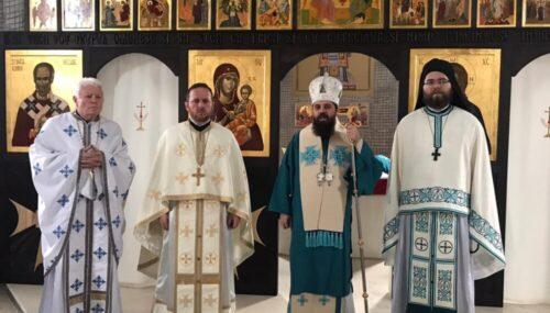 Duminica dinaintea Botezului Domnului, prăznuită la Mănăstirea Pantocrator din Beclean
