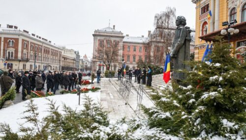 Ziua Culturii Naţionale şi data naşterii poetului Mihai Eminescu, sărbătorite la Cluj-Napoca