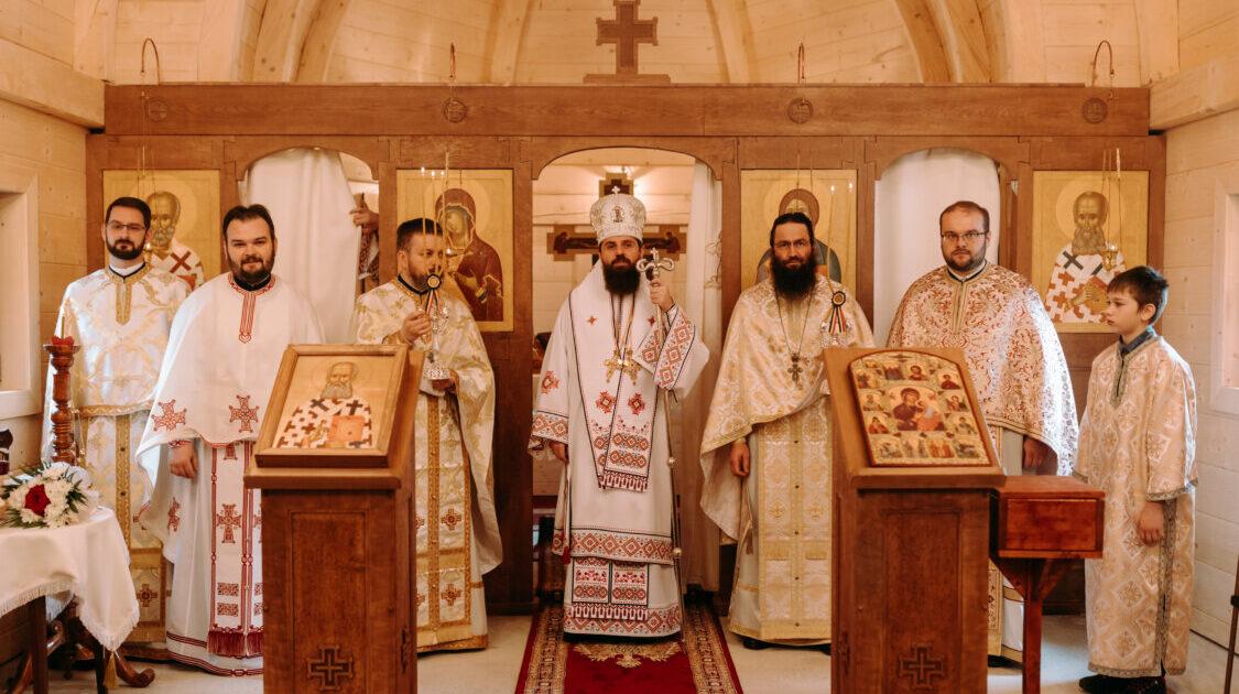 Biserica din filia Muntele Săcelului – Moara de Pădure și-a prăznuit sfântul ocrotitor