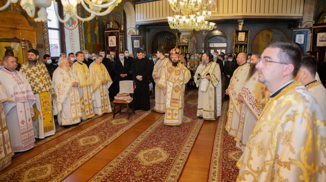 Sfântul Haralambie, sărbătorit în Parohia Sebiș, în prezența PS Benedict Bistrițeanul