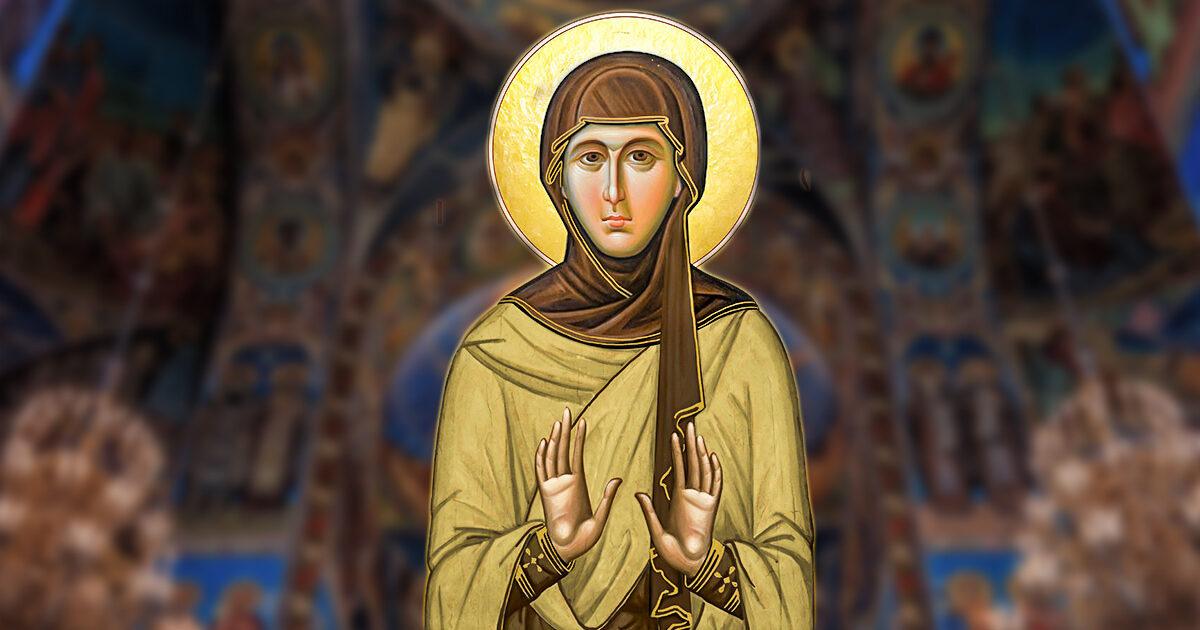 Sfânta Cuvioasă Gorgonia, mamă a sărmanilor