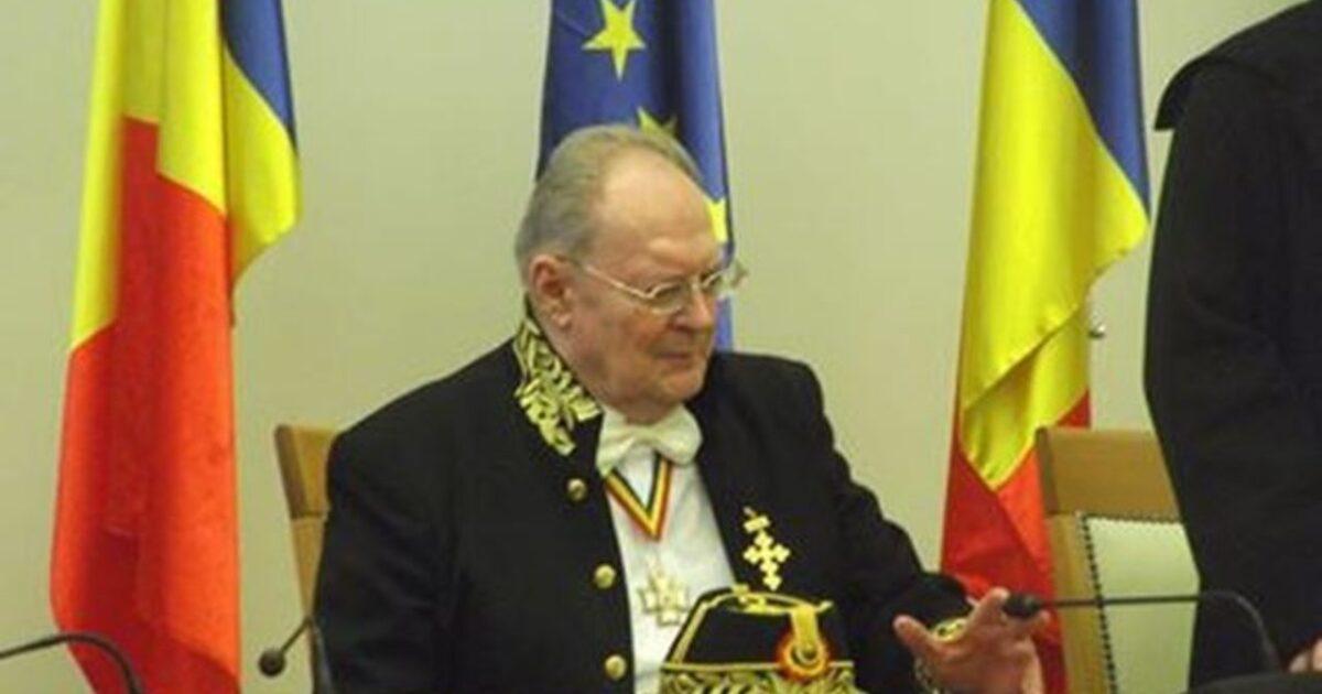 Academicianul Surdu, o personalitate aparte a României zilelor noastre