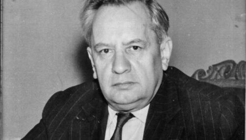 Profesorul universitar și matematicianul TIBERIU POPOVICIU (16 februarie 1906 – 29 octombrie 1975)