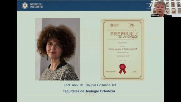 Premii de excelență UBB, acordate PS Benedict și altor membri ai Facultății de Teologie Ortodoxă Cluj