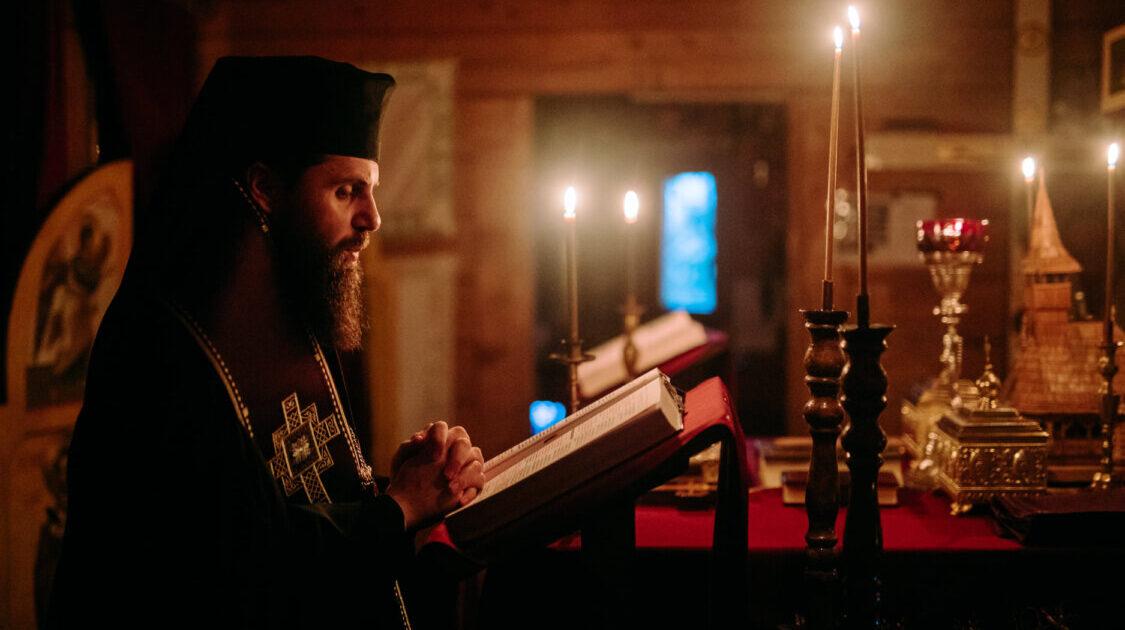 Prima parte a Canonului cel Mare, la Biserica studenților din Hașdeu