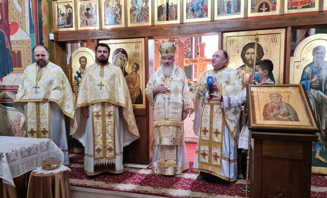 """Binecuvântare arhierească pentru credincioșii Parohiei """"Sf. Ap. Andrei"""" din Cluj-Napoca"""