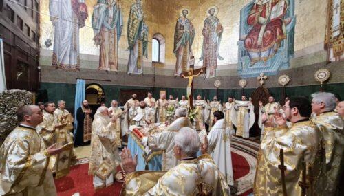 Buna Vestire, hramul Mitropoliei Clujului, Maramureșului și Sălajului | ÎPS Andrei a aniversat 10 ani de la întronizare
