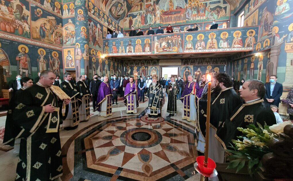 Liturghia Darurilor mai înainte sfințite, la Paraclisul Facultății de Teologie Ortodoxă din Cluj-Napoca