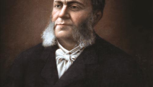 Istoricul Alexandru Dimitrie Xenopol (23 martie 1847 – 27 februarie 1920)