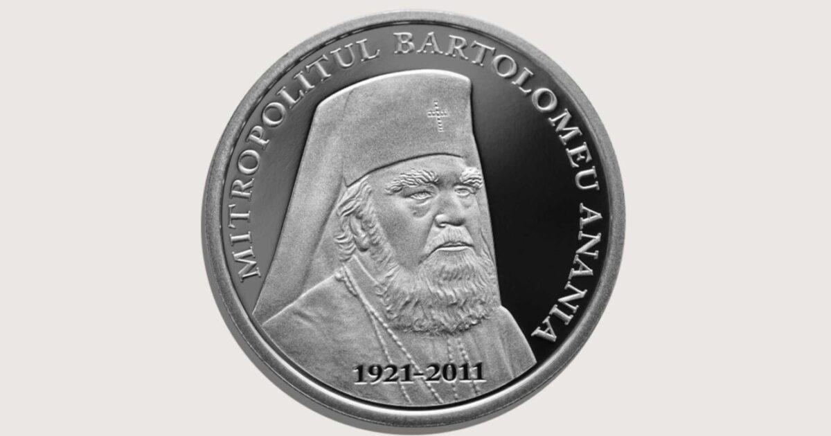 Mitropolitul Bartolomeu, omagiat de BNR la 100 ani de la naştere