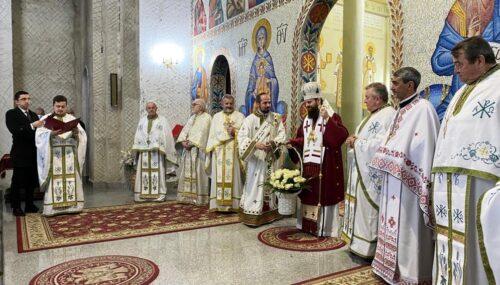 Episcopul-vicar Benedict Bistrițeanul şi-a sărbătorit ziua onomastică prin rugăciune