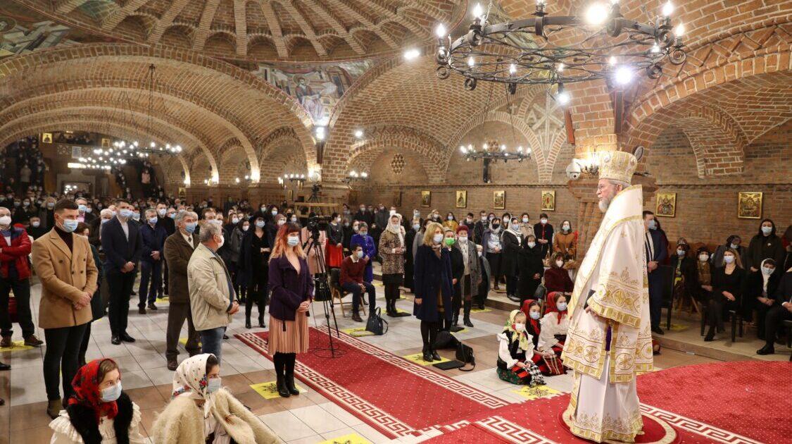 """Liturghie arhierească la Catedrala Episcopală """"Sfânta Treime"""" din Baia Mare"""