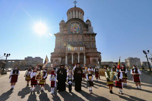 """Duminica Ortodoxiei, la Catedrala episcopală """"Sfânta Treime"""" din Baia Mare"""