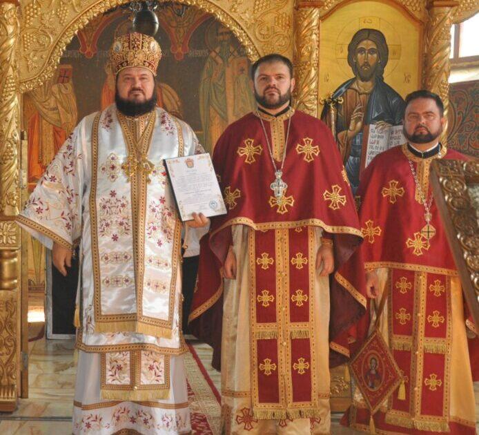 Liturghie arhierească în parohia sălăjeană Treznea