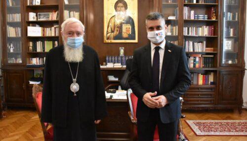 Mitropolitul Clujului a primit vizita Ambasadorului Statului Israel în România