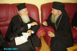 Alături de Patriarhul Ecumenic Bartolomeu I