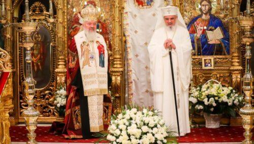 Mesajul Patriarhului Daniel adresat Mitropolitului Andrei cu prilejul aniversării a 10 ani de slujire la Cluj