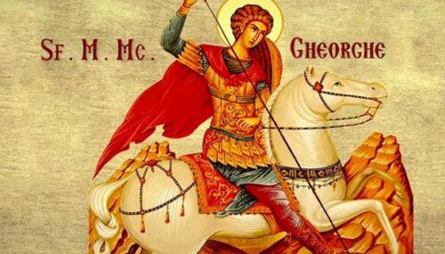Agenda ierarhilor la sărbătoarea Sf. M. Mc. Gheorghe, Purtătorul de biruință