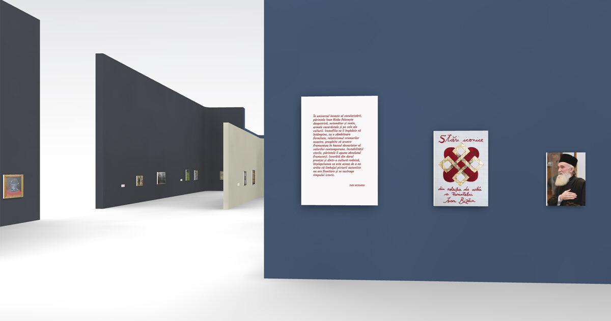 Expoziție virtuală cu lucrări de artă din colecția Părintelui Profesor Ioan Bizău
