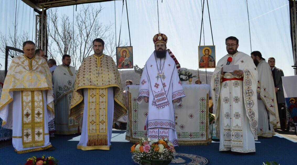 Binecuvântarea lucrărilor efectuate în Parohia Năsal