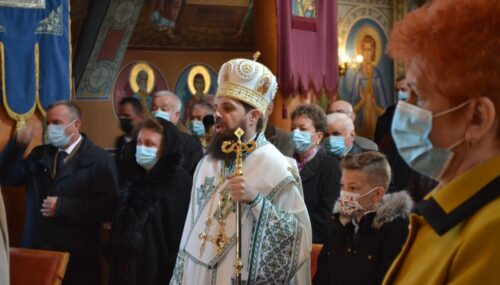 """Sf. Evanghelist Marcu, prăznuit în Duminica Floriilor, la Biserica ,,Sf. Gheorghe"""" din cartierul clujean Gruia"""