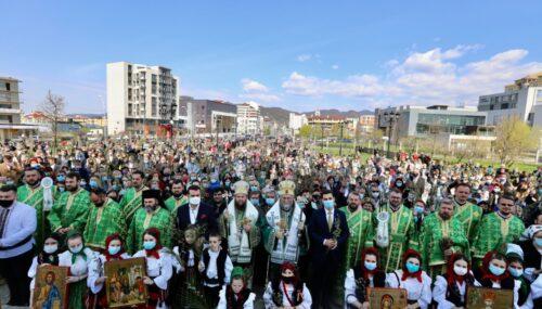 Sărbătoarea Floriilor, la Catedrala Episcopală din Baia Mare