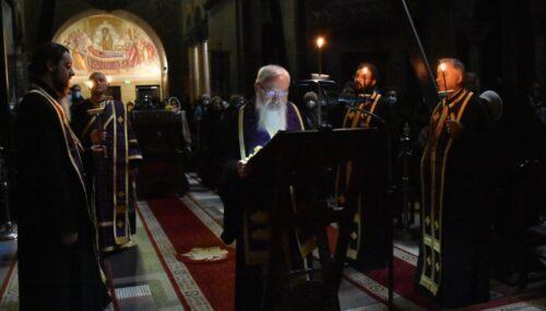 Părintele Mitropolit Andrei a săvârșit Denia Canonului cel Mare la Catedrala Mitropolitană