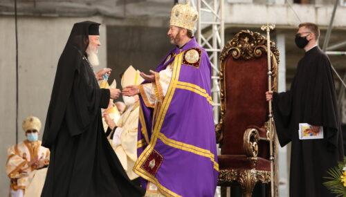 Mitropolitul Andrei, prezent la întronizarea Episcopului Claudiu Lucian Pop
