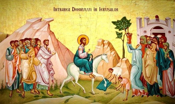 Agenda ierarhilor la Praznicul Intrării Domnului în Ierusalim (Duminica Floriilor)