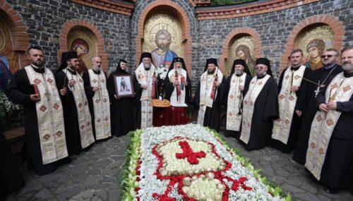 Centenarul nașterii Arhiepiscopului Justinian Chira | Liturghie și Parastas la Mănăstirea Rohia
