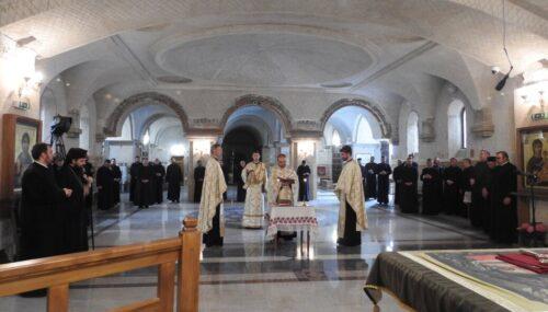 Clericii din Protopopiatul Gherla, întruniți în cadrul conferinței preoțești de primăvară