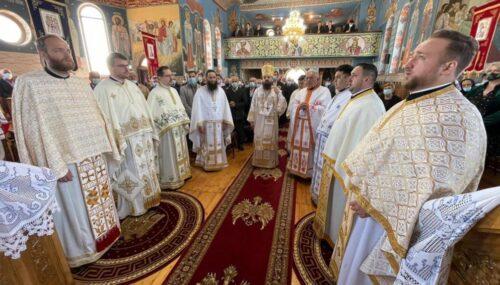 Biserica Parohiei Iclod, binecuvântată de Preasfințitul Părinte Benedict Bistrițeanul