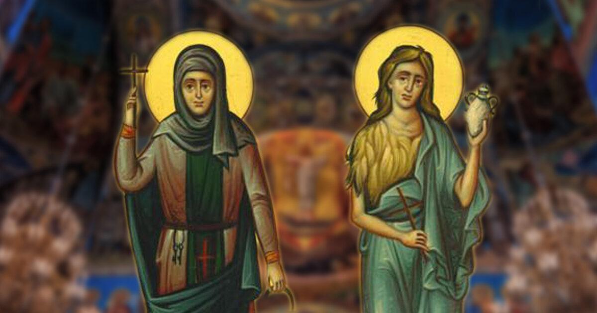Sfintele Femei Mironosițe Marta și Maria, modele de iubire
