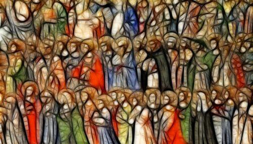 Sfințeniași sfinții în tradiția răsăriteană