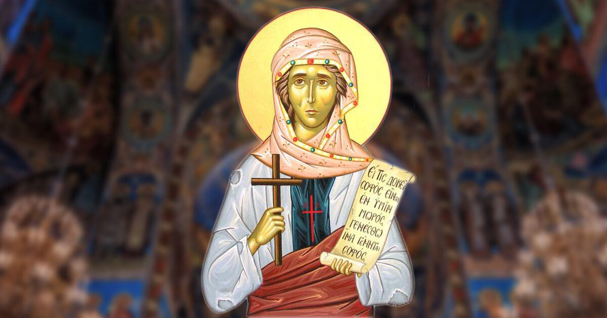 Sfânta Cuvioasă Isidora, cea care s-a făcut nebună pentru Hristos