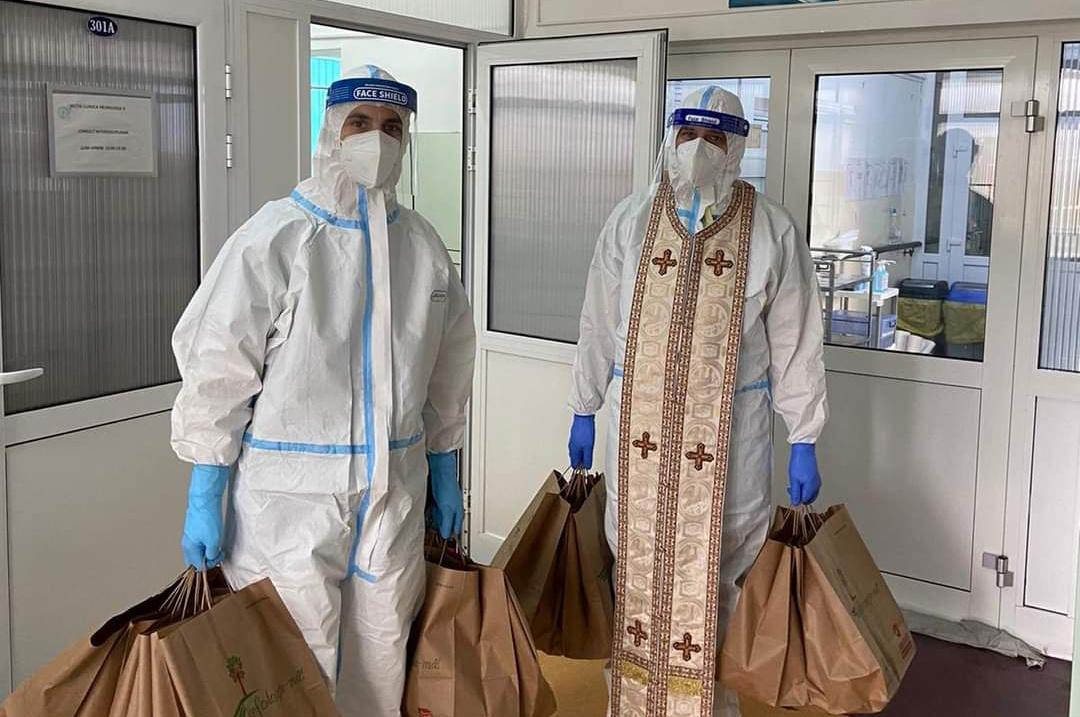 Pr. Bogdan Pop - Activitatea preotului de caritate în vreme de pandemie