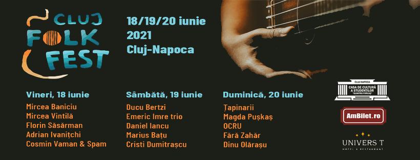 La mijloc de iunie, Clujul cântă folk!