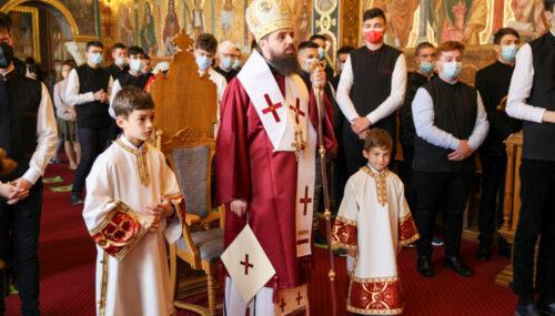 Sfântul Iustin Martirul și Filosoful, prăznuit de elevii de la Seminarul Teologic Ortodox din Cluj-Napoca
