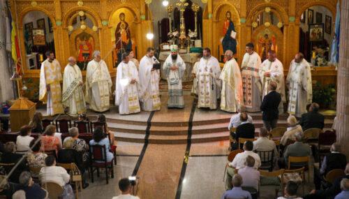 """Hramul Parohiei """"Sfânta Treime"""" și """"Sfinții Martiri Brâncoveni""""- Gherla III"""